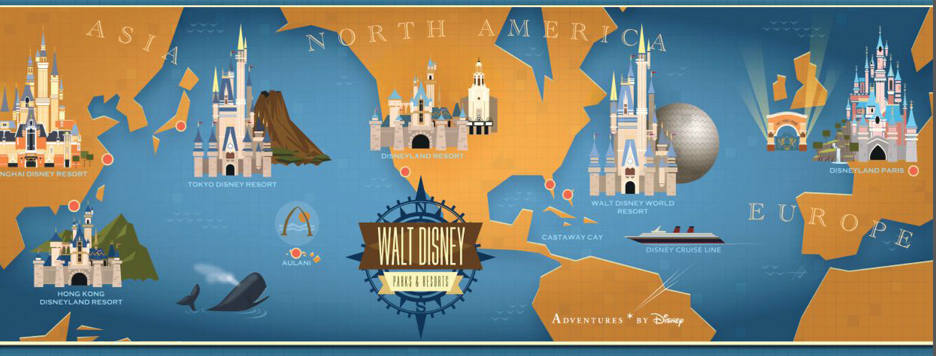 Walt disney parks and resorts growth fact sheet disney parks blog overview of walt disney parks and resorts freerunsca Choice Image