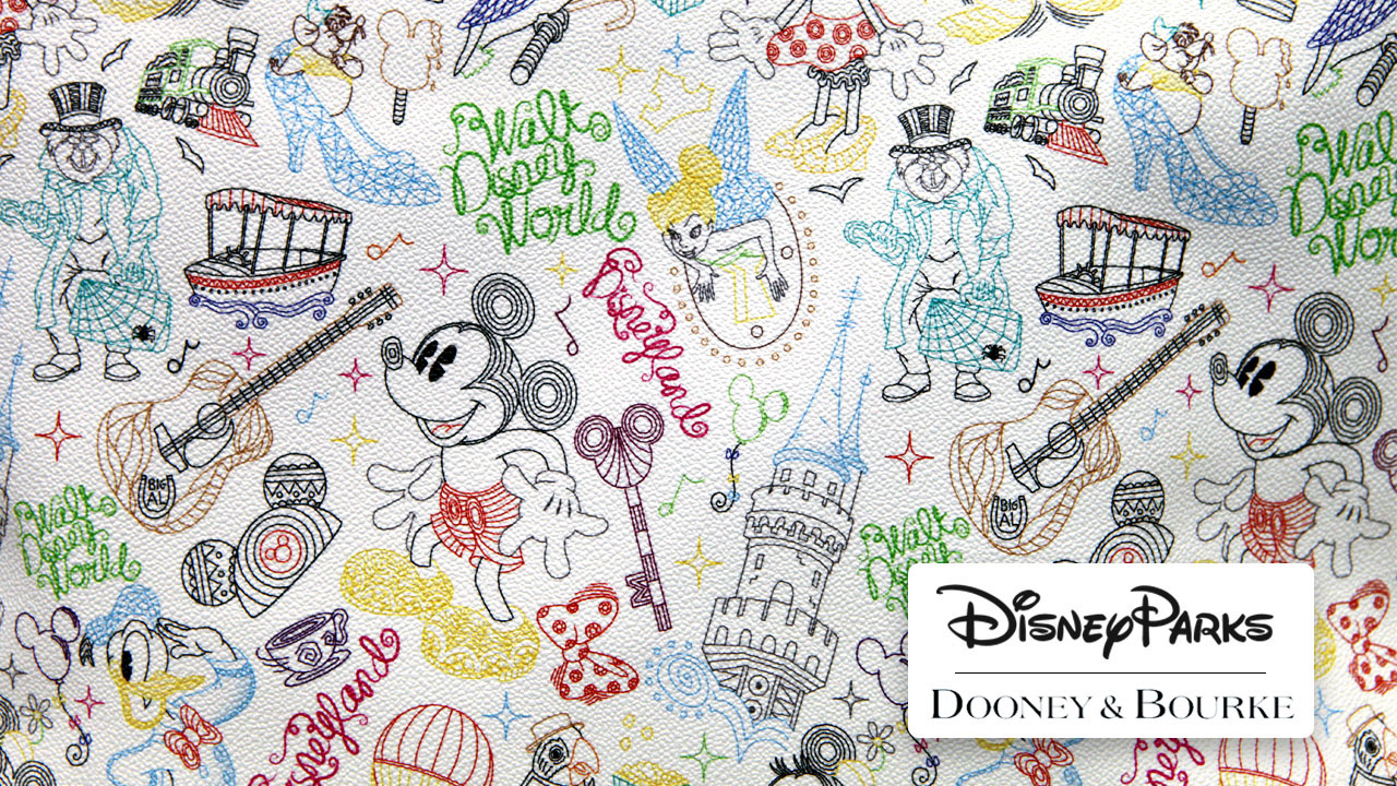 Take a Walk in the Park This Summer with New Dooney & Bourke Handbags and More at Disney Parks