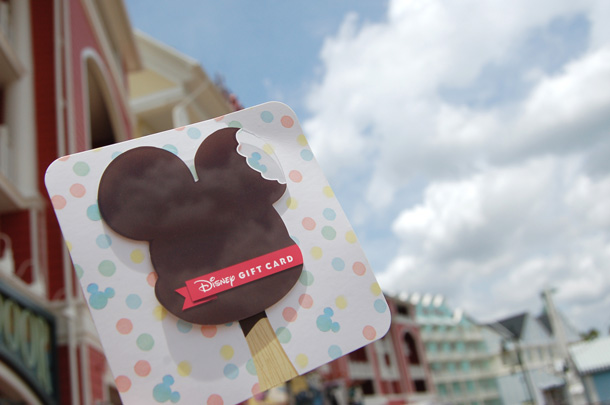 Cool Off With a 'Sweet' New Disney Gift Card Design!