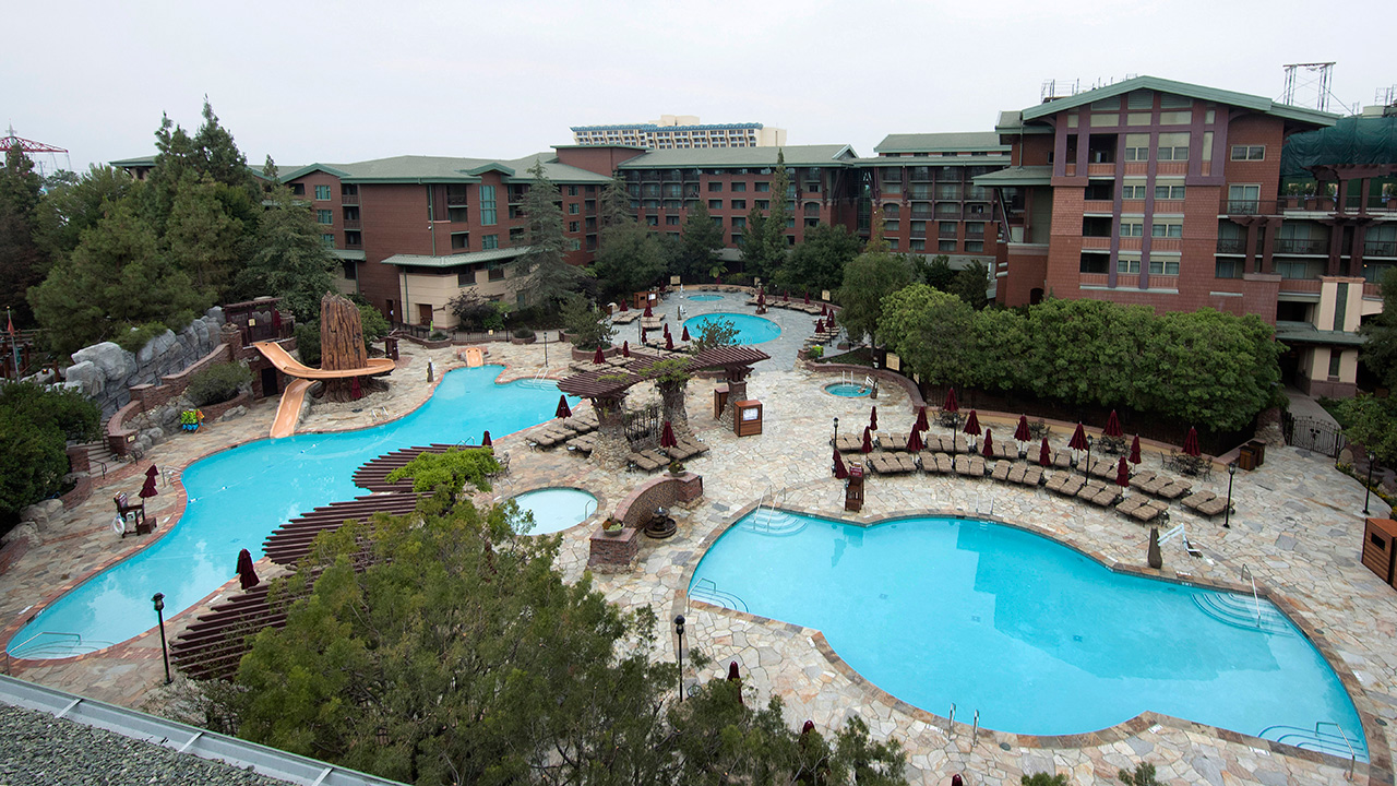 a closer look: new pool deck at disney's grand californian hotel