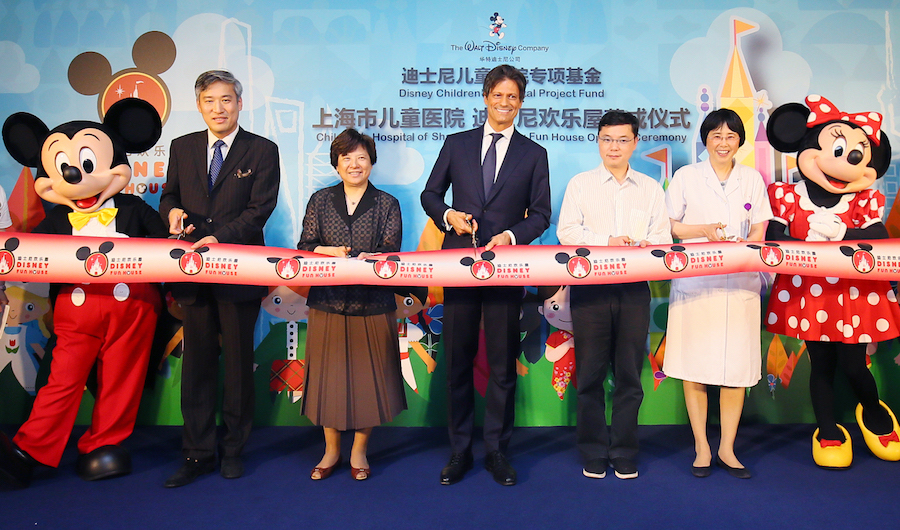 Shanghai Disney Resort Launches Children's Initiatives in Mainland China