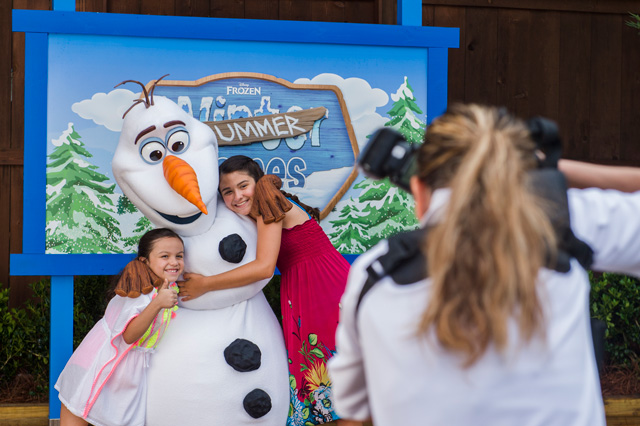 As the Weather Heats Up, Cool Off with the 'Frozen' Summer Games at Disney's Blizzard Beach