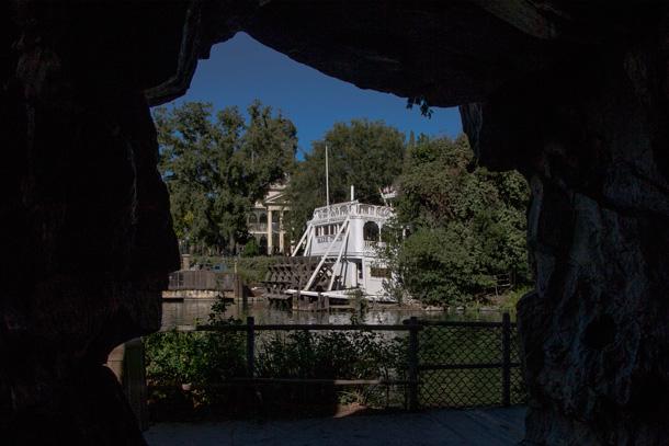 Pirate's Lair on Tom Sawyer Island at Disneyland Park