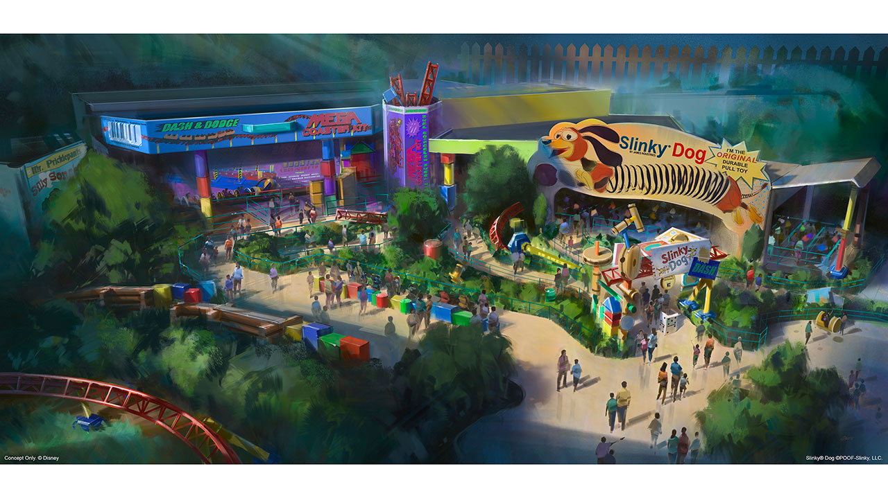 Toy Story Land To Open At Walt Disney World Resort In Summer 2018 Disney Parks Blog
