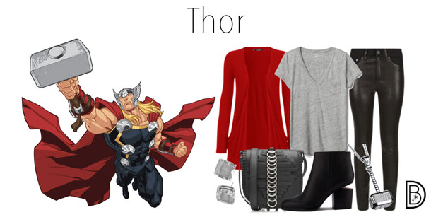 Celebrate Super Heroes and Villains in Mythic Fashion at Marvel Day at Sea - Thor