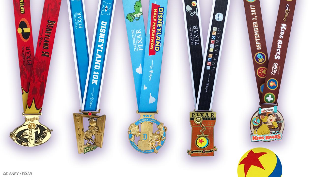 medal monday rundisney and pixar team up on disneyland half marathon weekend medals disney. Black Bedroom Furniture Sets. Home Design Ideas