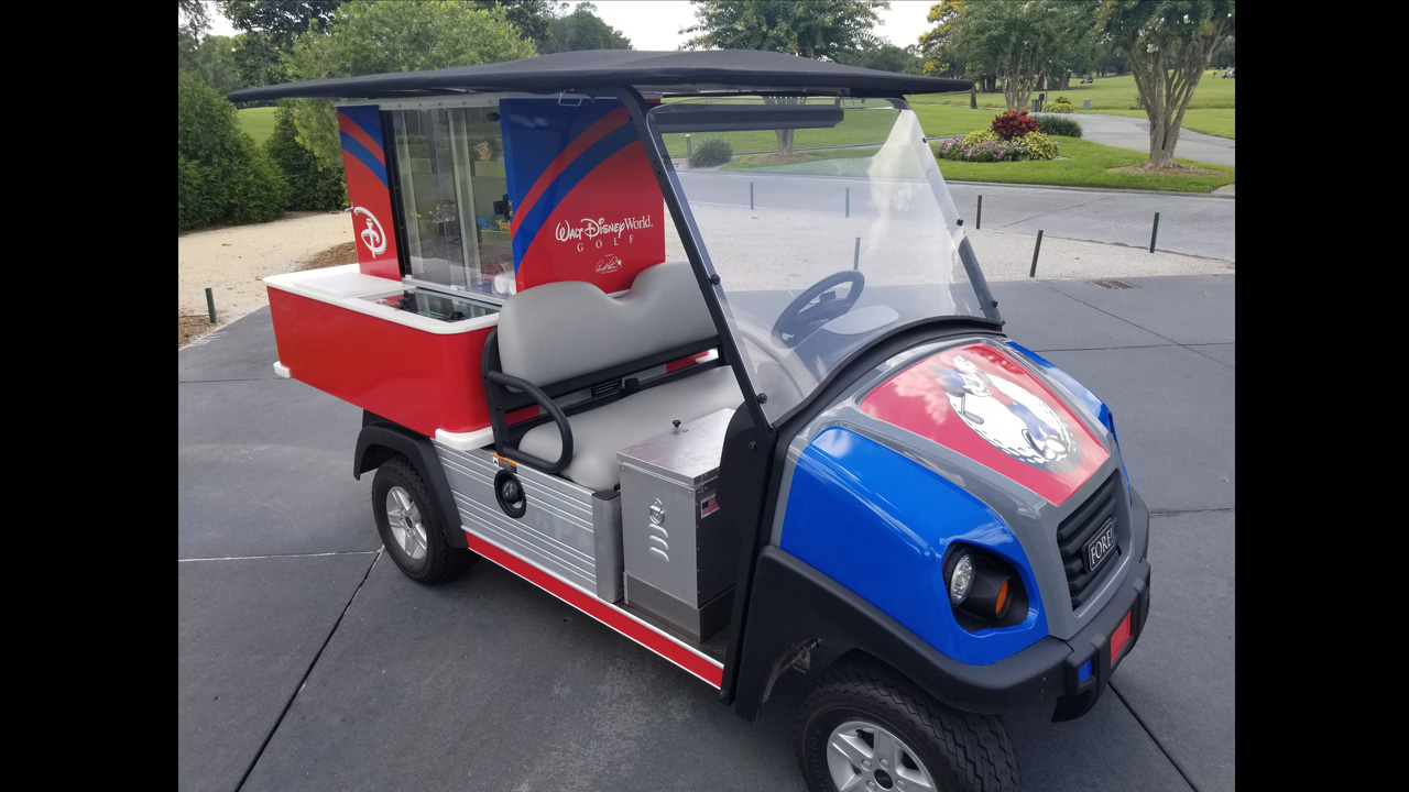 New Disney-Themed Refreshment Carts Serving Up Magic at Walt Disney World Resort Golf Courses