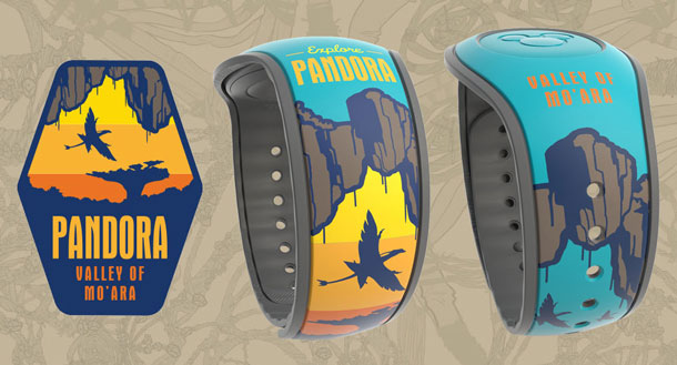 New Limited Edition Retail MagicBands Debut This Summer at Pandora – The World of Avatar