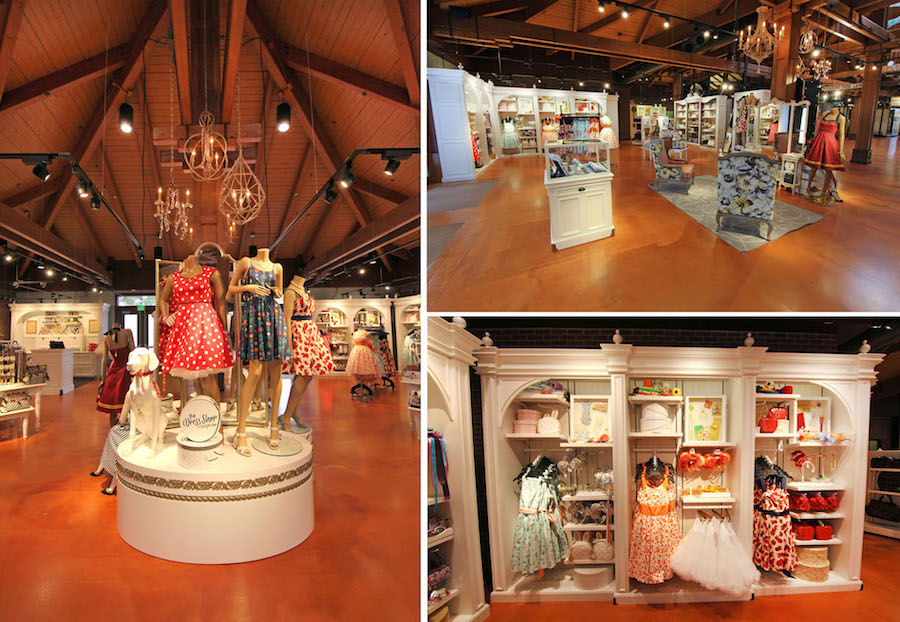 The Dress Shop Returns to Cherry Tree Lane in Marketplace Co-Op at Disney Springs
