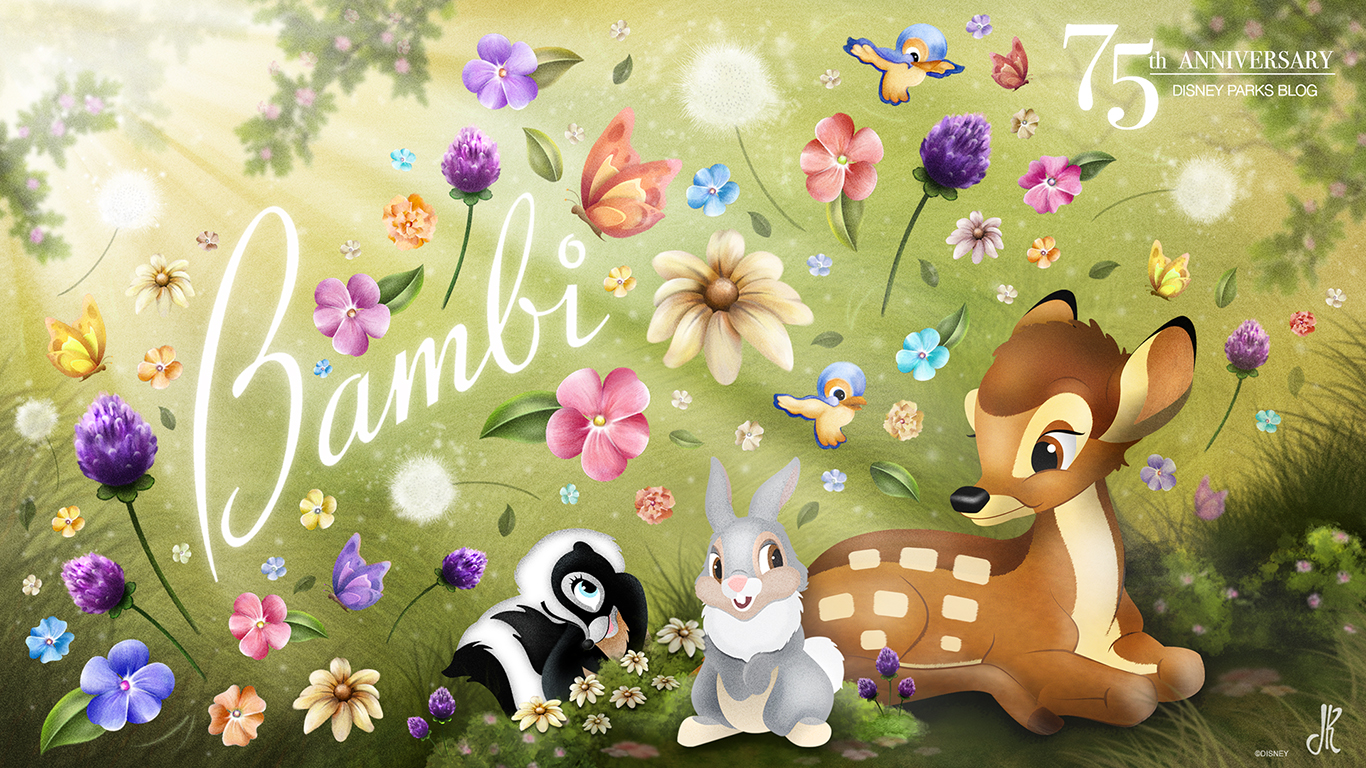 Bambi Wallpaper Disney Parks Blog