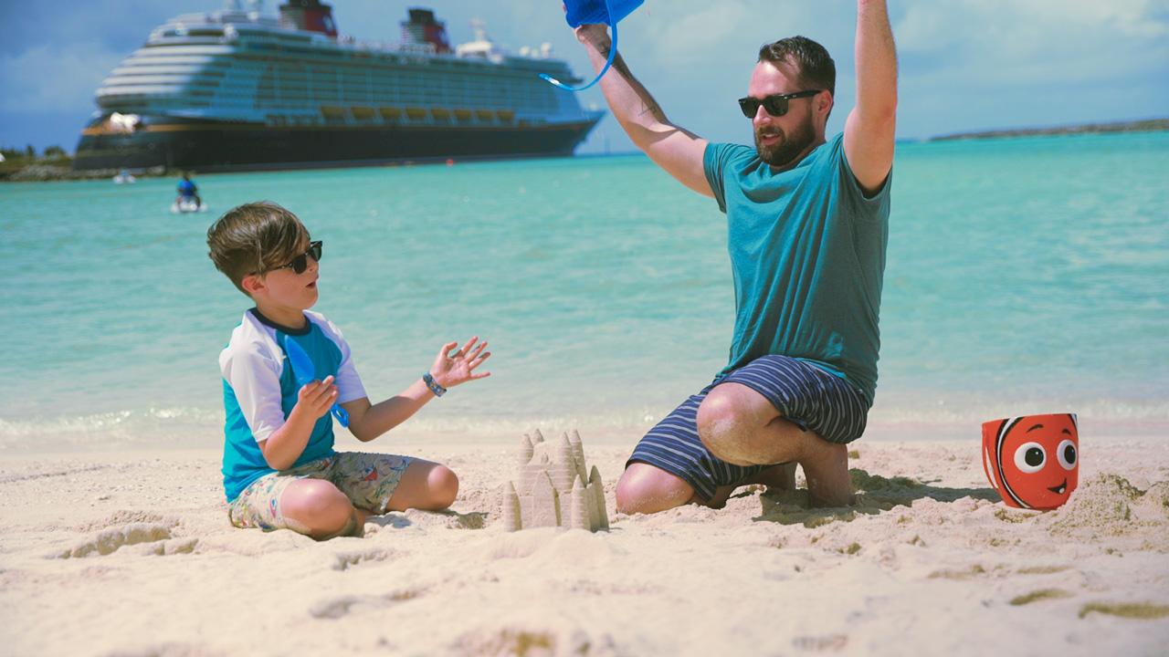 Disney Cruise Line - Cruising with Dad