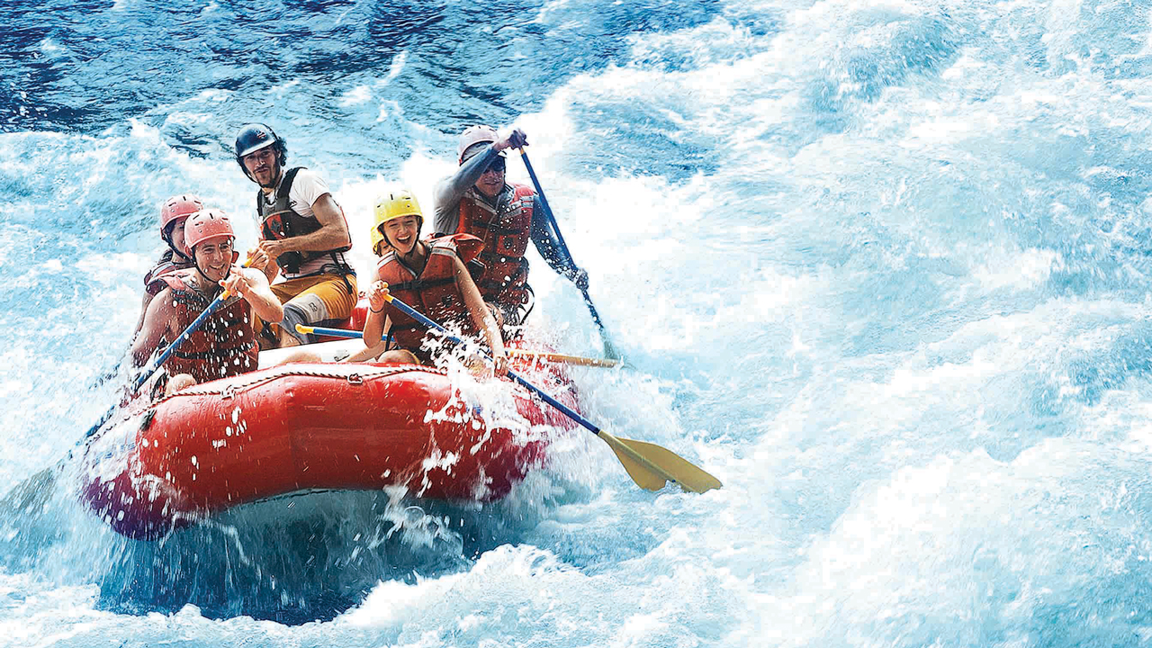 """White Water Rafting on Costa Rica Adventures by Disney Vacation"""