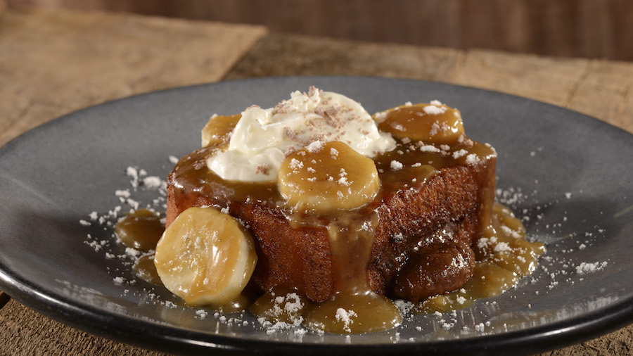 Banana Foster's French Toast from Roaring Fork