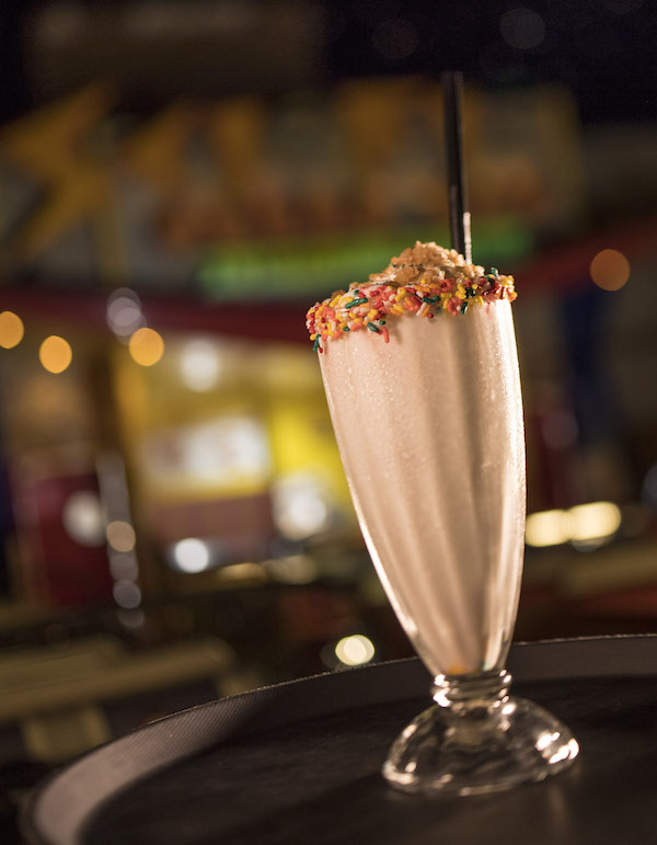 Birthday Cake Shake from the Sci-Fi Dine-In Theater Restaurant