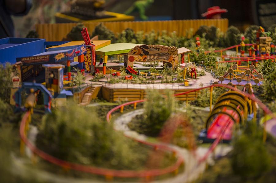 Toy Story Land Model