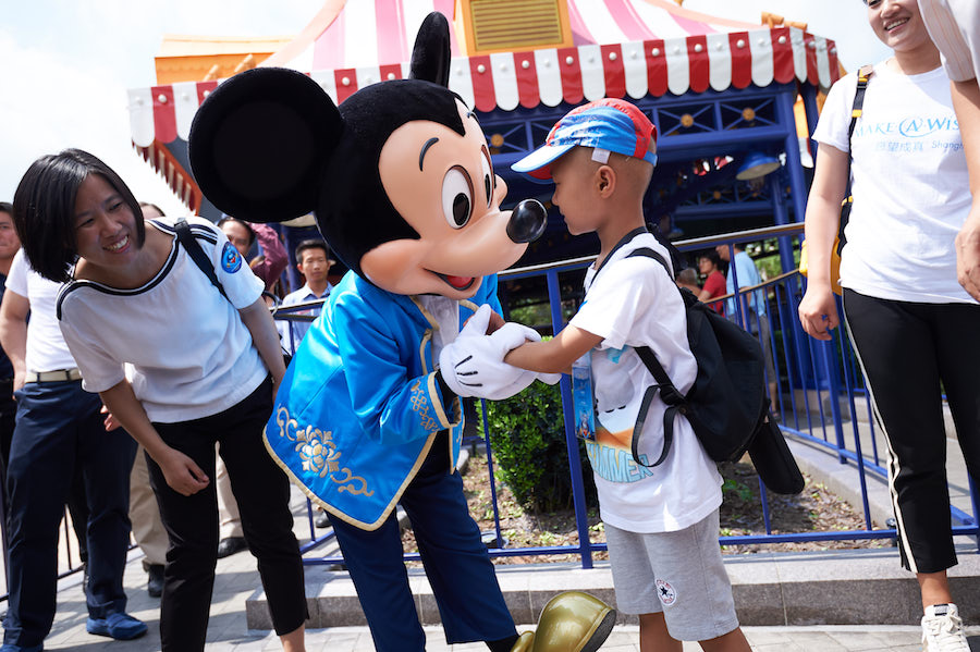 Make-A-Wish Shanghai Grants Its Very First Wish at Shanghai Disney Resort
