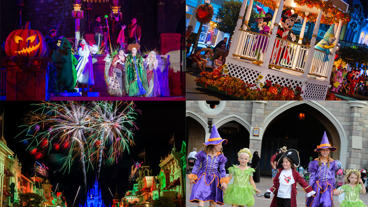 Top Five Can't Miss Moments at Mickey's Not-So-Scary Halloween ...