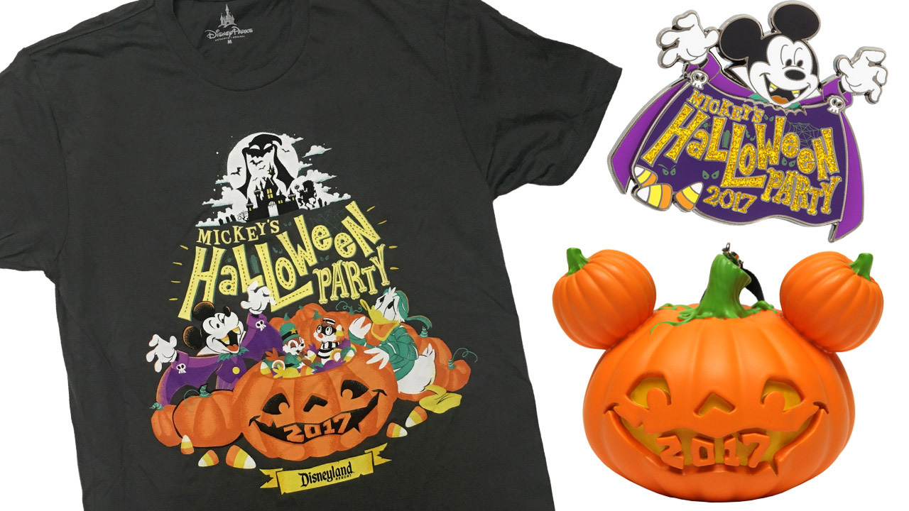 Colorful Commemorative Products Coming to Mickey's Halloween Party ...