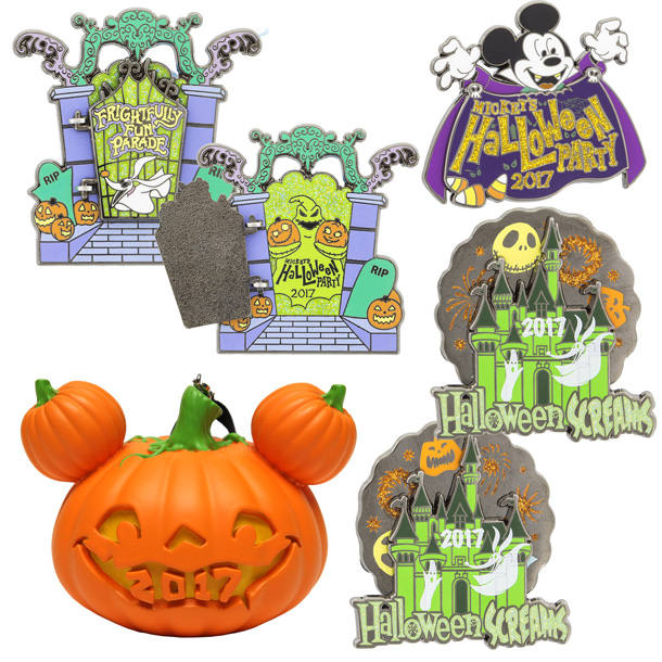 Mickey's Halloween Party 2017 Merchandise