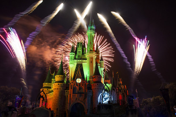 Happy HalloWishes Fireworks Spectacular
