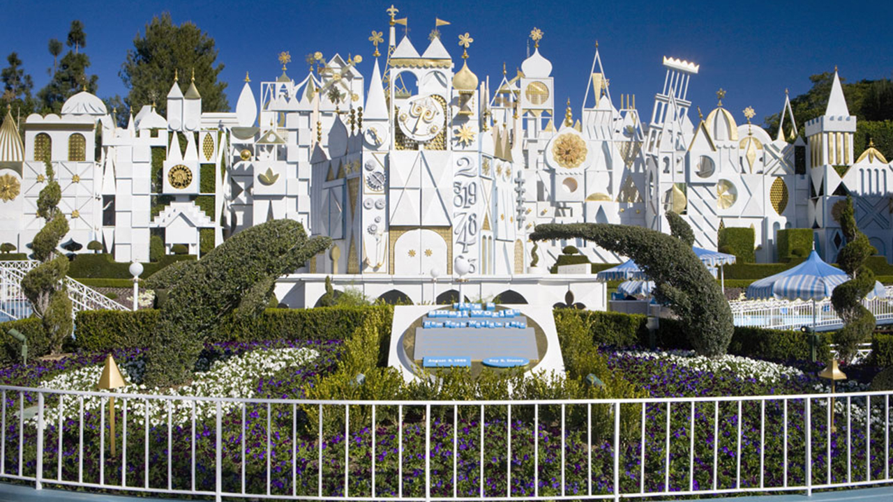 Image result for it's a small world facade disneyland ca