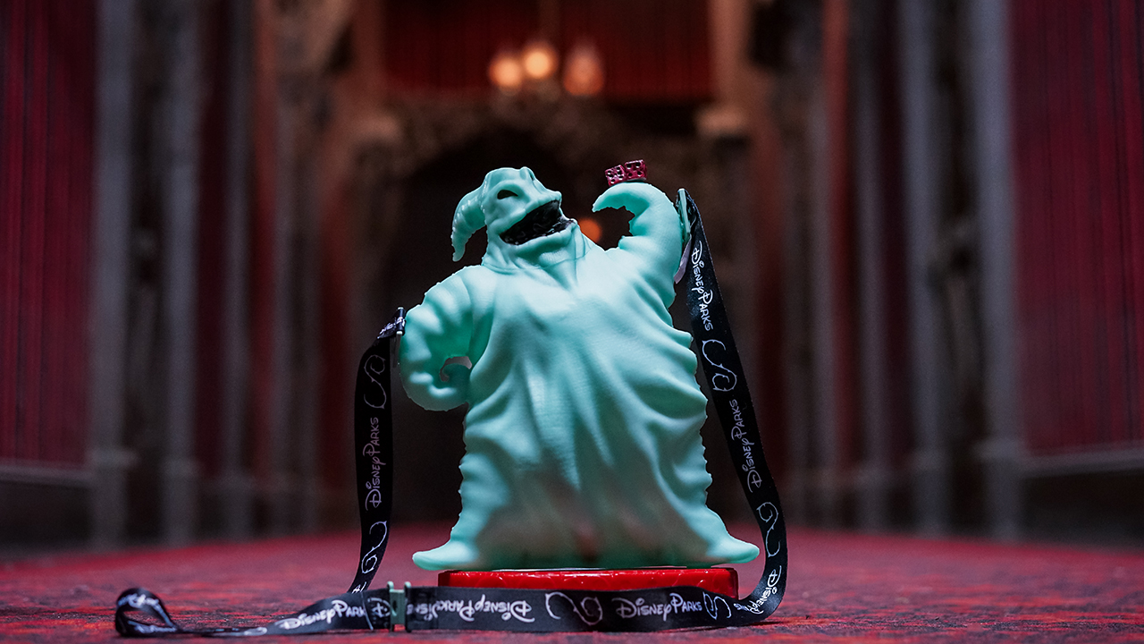 Oogie Boogie popcorn bucket during Halloween Time at Disneyland Resorts