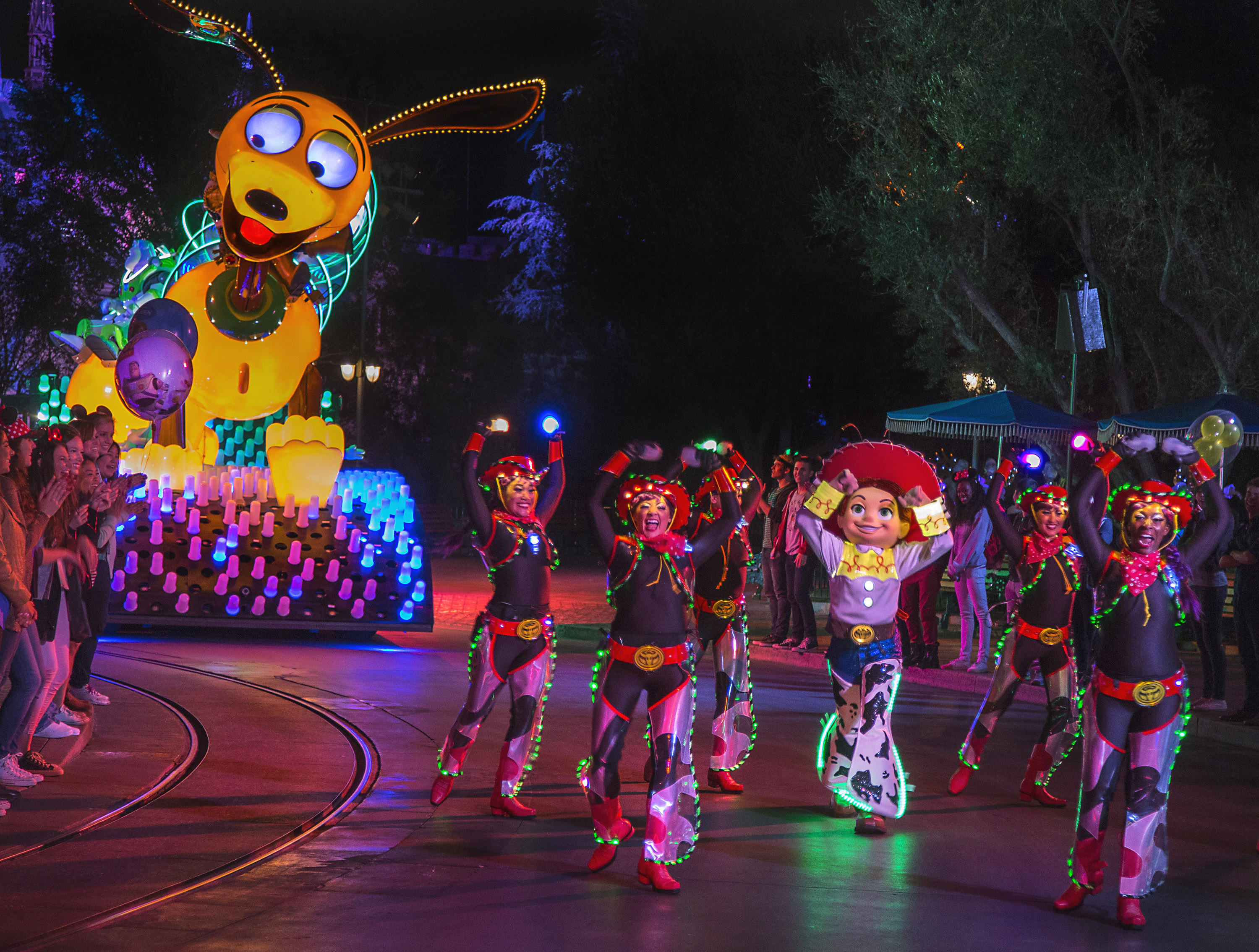 'Paint the Night'  Parade at Disneyland Resort