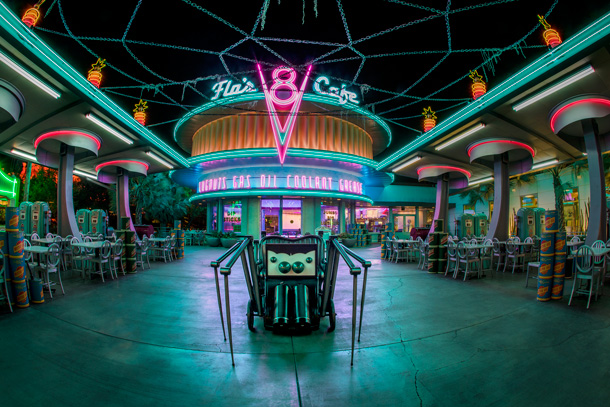 A Walk In The Park After Dark Haul O Ween In Cars Land At Disney California Adventure Park