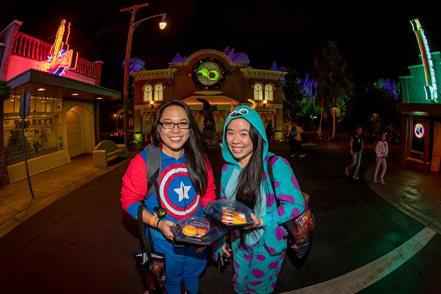 Readers Cruise Cars Land After Dark at Disney Parks Blog Haul-O-Ween Meet-Up in Disney California Adventure Park