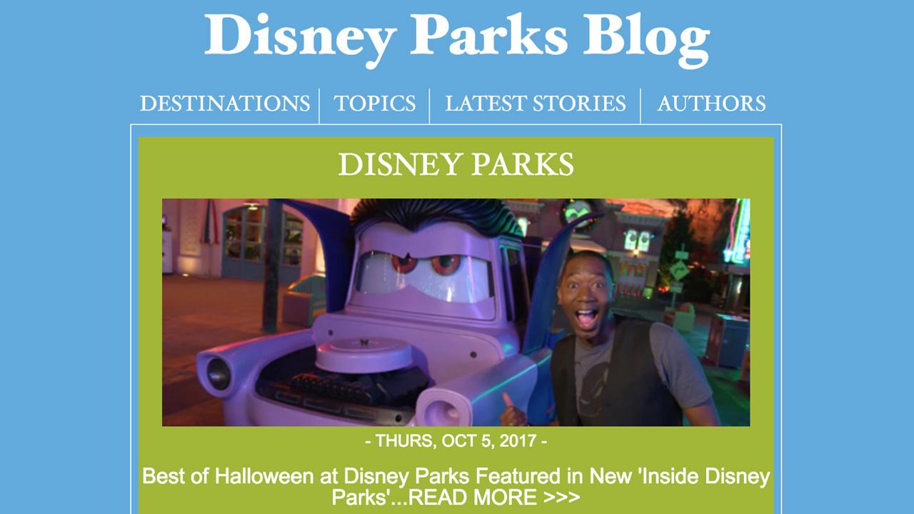 Disney Parks Blog Email Newsletter