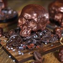 Chocolate Caramel Skulls at The Ganachery