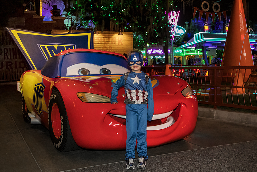 This Week in Disney Parks Photos: Haul-O-Ween in Cars Land at Disney California Adventure Park