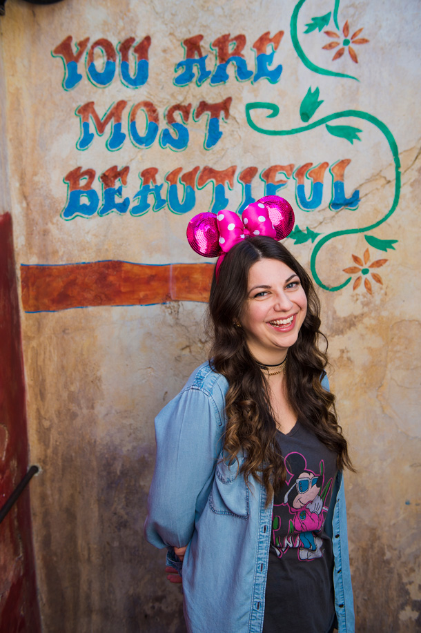 "Disney's Animal Kingdom ""You Are Most Beautiful"" Wall"