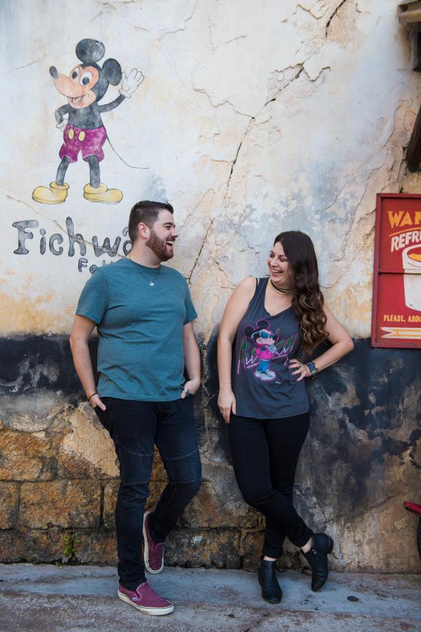 Disney's Animal Kingdom Harambe Theater Wall