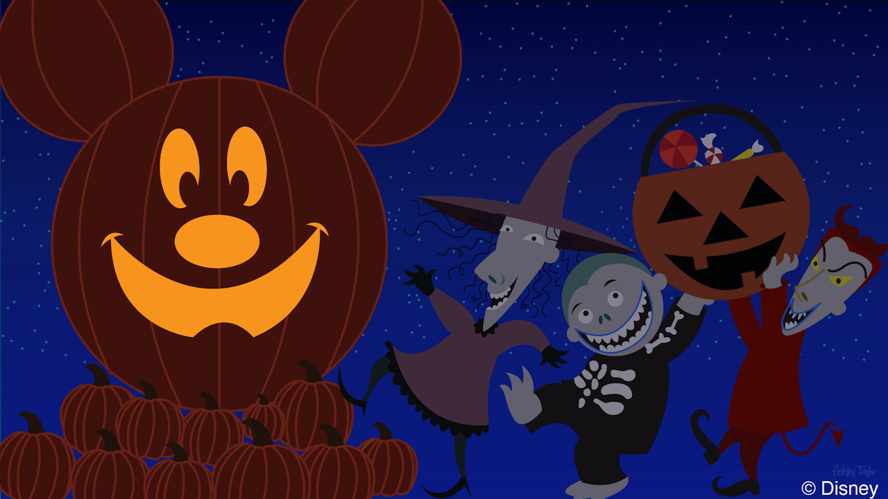 Lock, Stock & Barrel Visit Mickey's Not-So-Scary Halloween Party