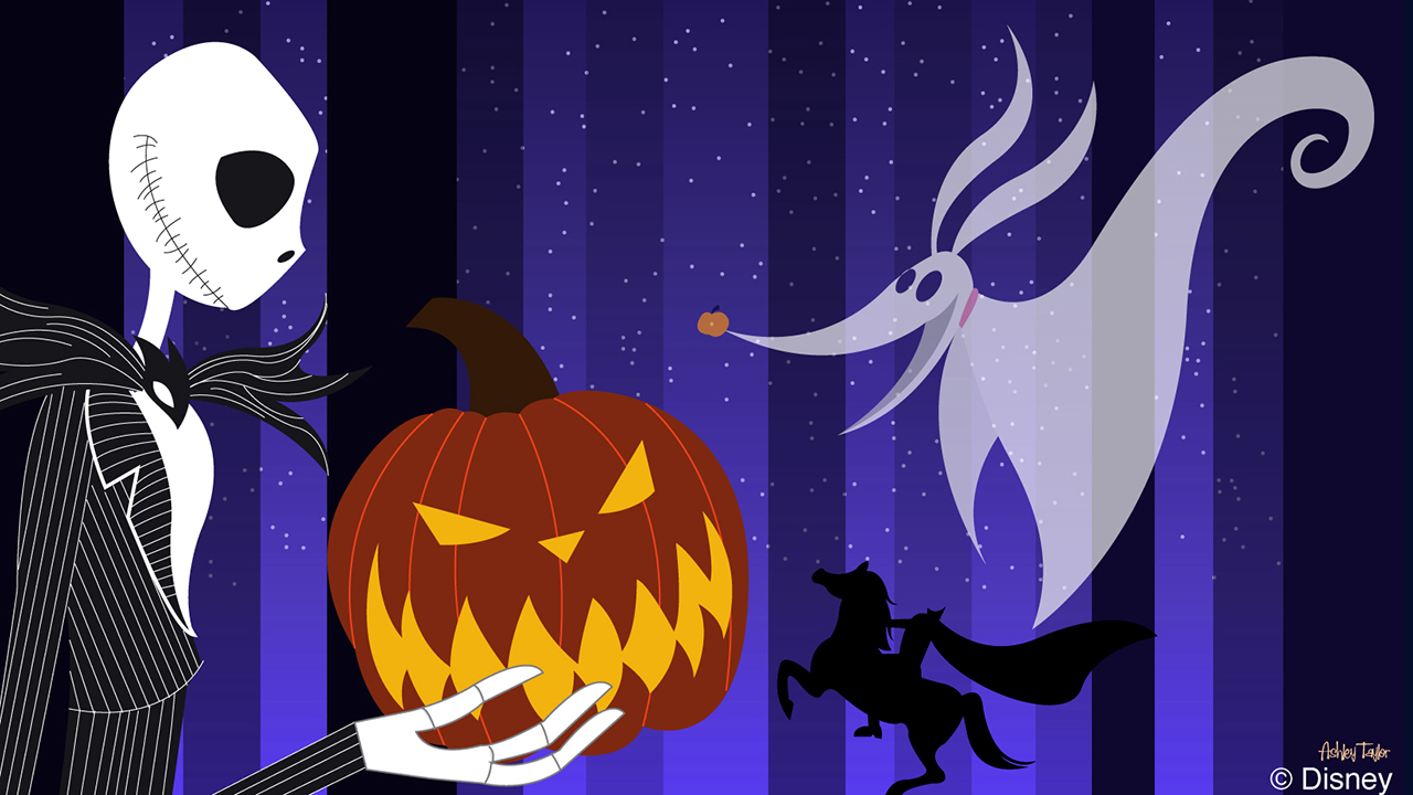 This Week in Disney Parks Photos: Halloween Disney Doodle