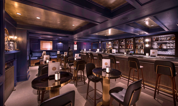 Ale & Compass Lounge at Disney's Yacht Club Resort
