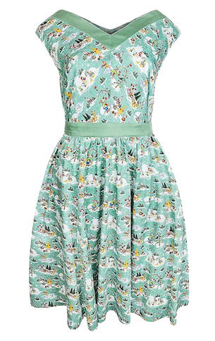 Woodland Winter Holiday Dress
