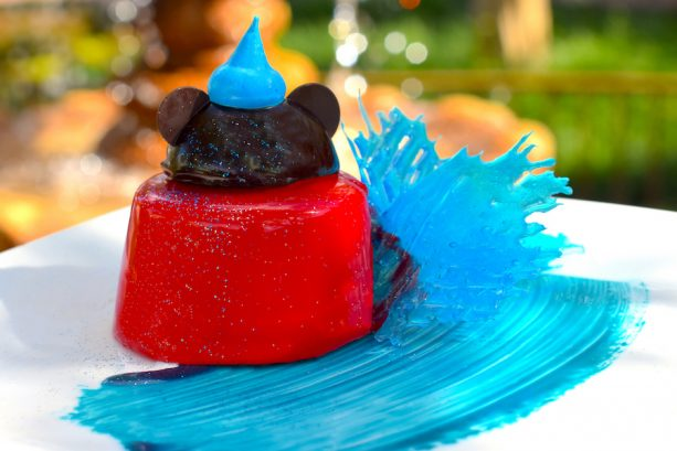 Mickey's Sorcerer's Hat Chocolate Cake at Magic Kingdom Park