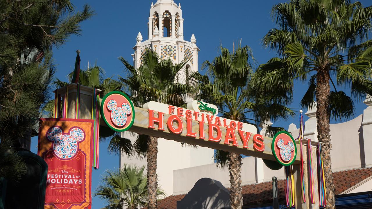 Festival of Holidays at Disney California Adventure park