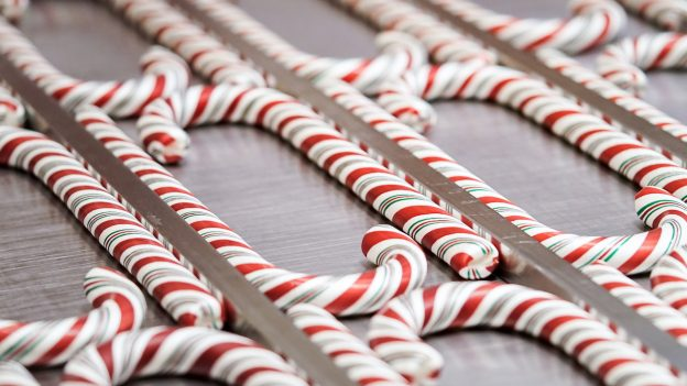 Hand-Pulled Candy Canes
