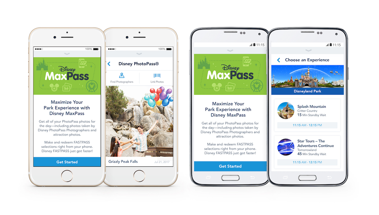 Disney MaxPass at the Disneyland Resort