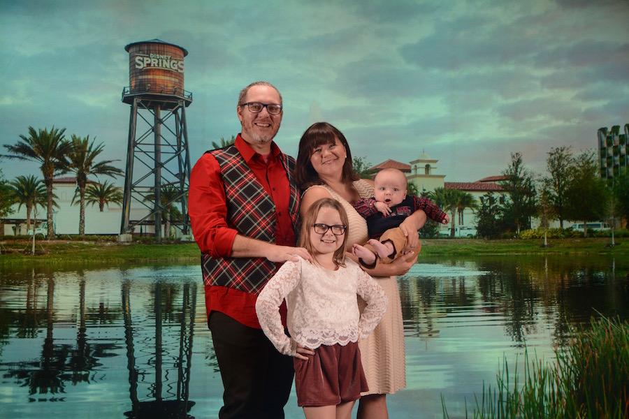 Family Photos at Disney PhotoPass Studio at Disney Springs