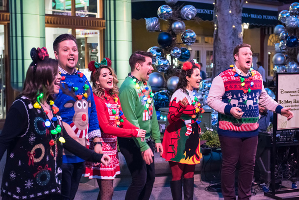 """Holiday Harmony"" at Downtown Disney District"