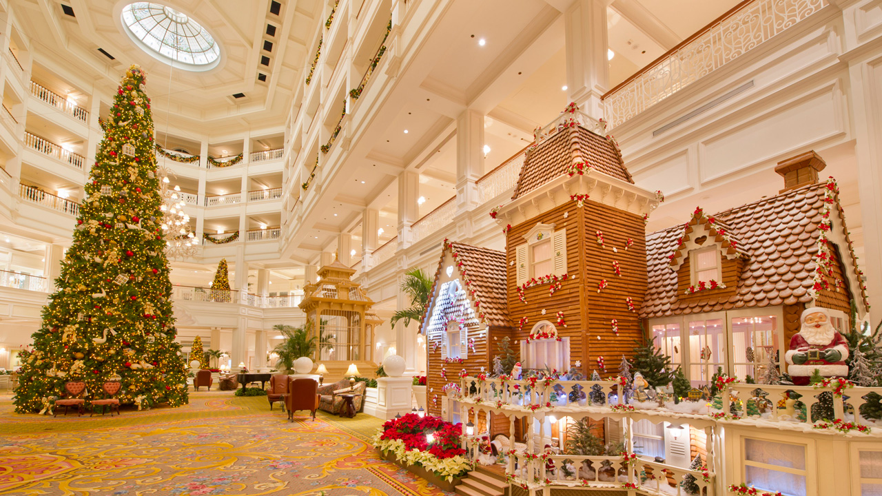 Fantastical Gingerbread Displays Decorate The Walt Disney