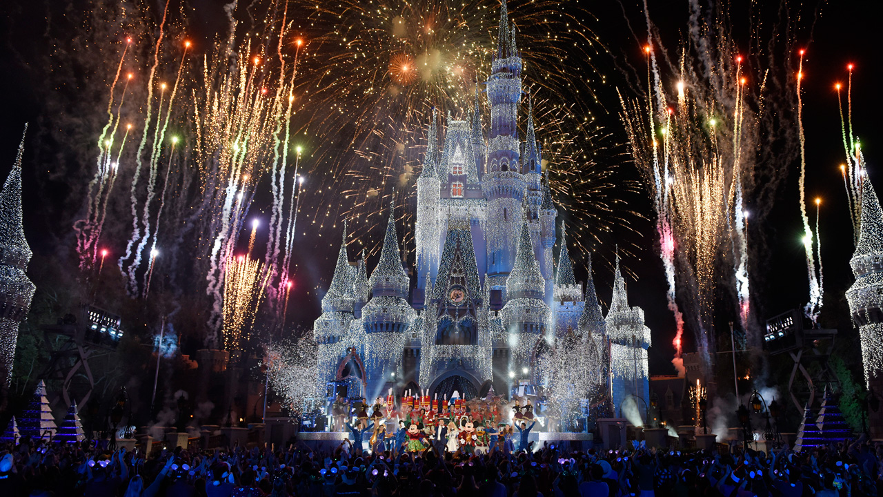 Disney Parks Unwrap Holiday Magic With Star Studded