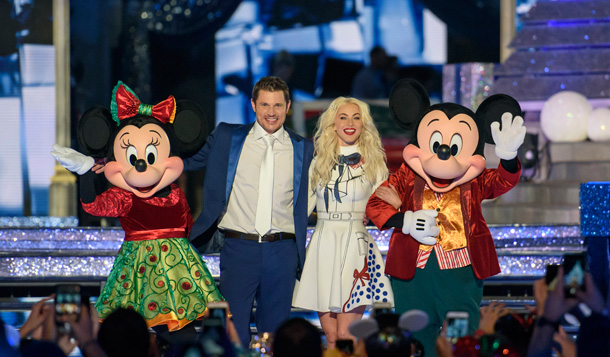 "Julianne Hough and Nick Lachey host ""The Wonderful World of Disney: Magical Holiday Celebration"""