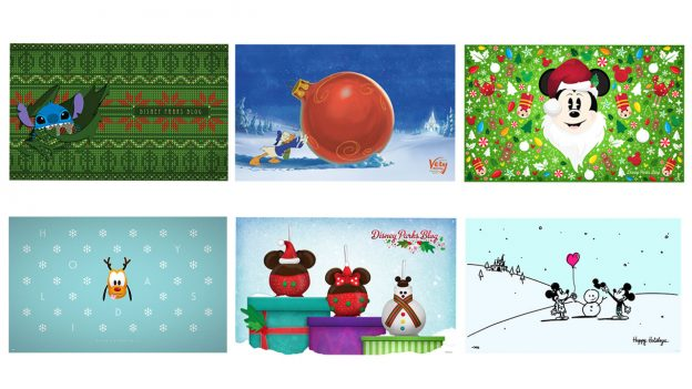 Holiday Disney Parks Blog Wallpapers