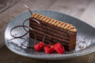 12 Layer Chocolate Cake at Ale & Compass at Disney's Yacht Club Resort