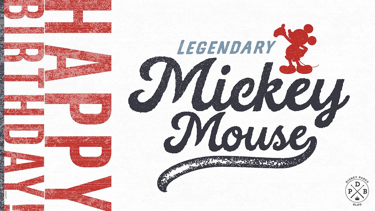 Disney Parks Blog Wallpaper: Mickey Mouse's Birthday